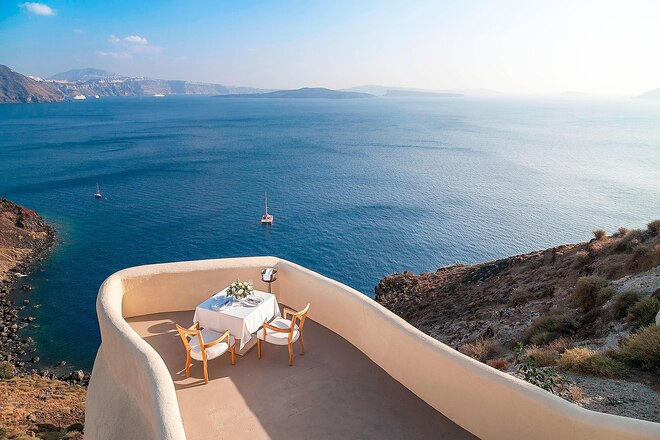 Private Dining with sea View